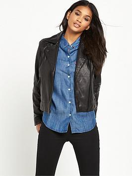 levis-levis-leath-moto-leather-jacket