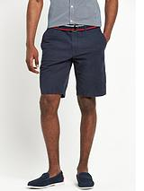 TOMMY HILFIGER BROOKLYN BELTED SHORT