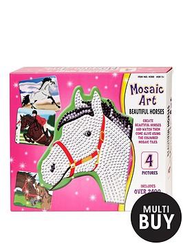 mosaic-art-beautiful-horses
