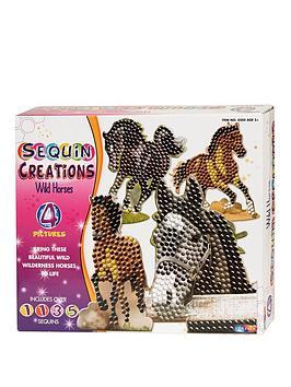 sequin-creations-wild-horses