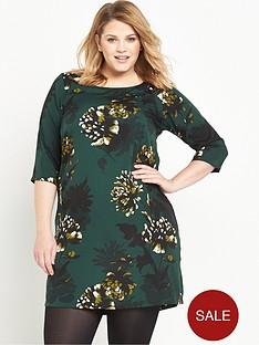 junarose-printed-shift-dress