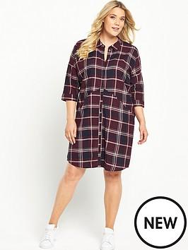 junarose-check-dress