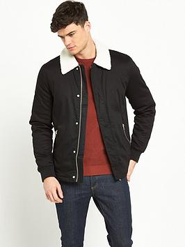river-island-borg-collar-jacket