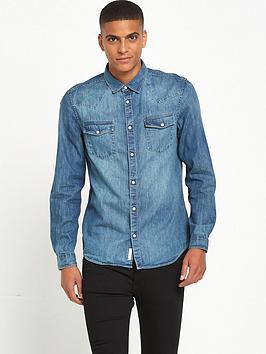 river-island-long-sleeve-denim-shirt