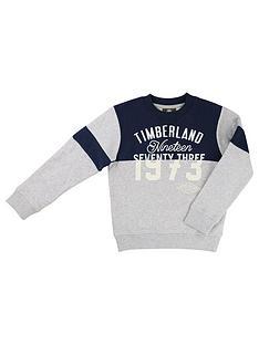 timberland-logo-sweat-top