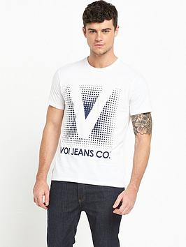 voi-jeans-large-logo-ss-tshirt