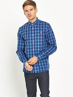 fred-perry-tartan-gingham-mix-shirt