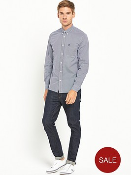 fred-perry-gingham-shirt