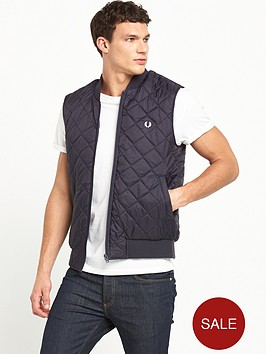 fred-perry-quilted-gilet
