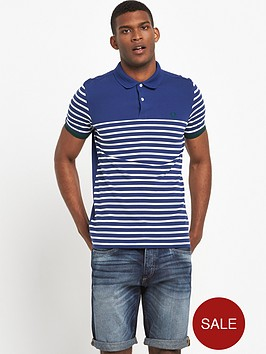 fred-perry-striped-panel-polo