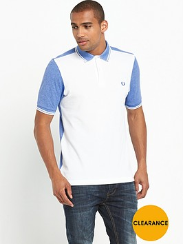 fred-perry-colour-block-oxford-polo