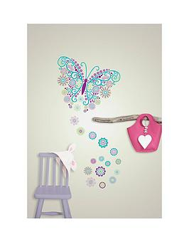 wallpops-social-butterfly-large-wall-art-reusable-sticker-kit