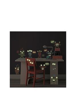 wallpops-reusable-glow-in-the-dark-monsters-wall-art-sticker-kit