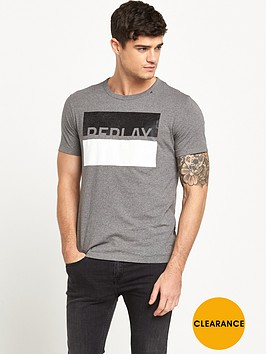 replay-box-logo-t-shirt