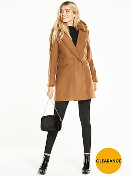 wallis-faux-fur-collar-coat-rust