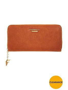 fiorelli-city-zip-around-purse-tan