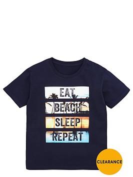 v-by-very-boys-eat-sleep-beach-repeat-tee