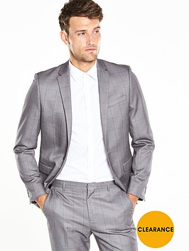 v-by-very-window-pane-check-suit-jacket