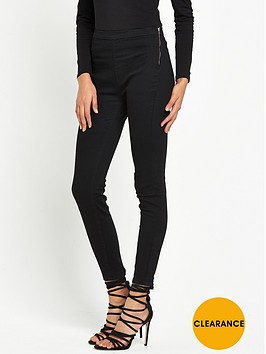 miss-selfridge-side-zip-jegging