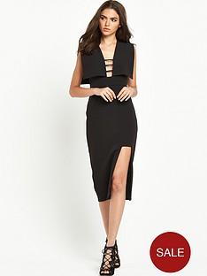 the-8th-sign-polygon-midi-dress