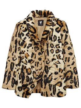 v-by-very-girls-leopard-print-faux-fur-coat