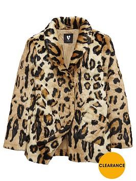 v-by-very-girls-leopard-print-faux-fur-coat