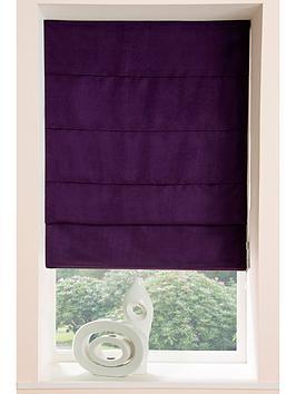 faux-suede-roman-blind-90cm