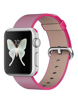 apple-watch-38mm-silver-aluminium-case-with-pink-woven-nylon
