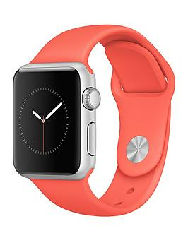 apple-watch-38mm-silver-aluminium-case-with-apricot-sport-band
