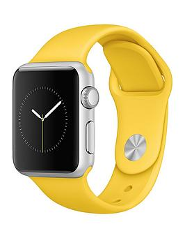 apple-watch-38mm-silver-aluminium-case-with-yellow-sport-band