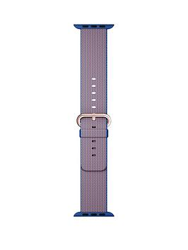 apple-watch-38mm-royal-blue-woven-nylon-band