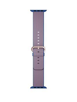 apple-watch-38mm-royal-blue-woven-nylon-band