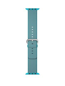 apple-watch-38mm-scuba-blue-woven-nylon-band