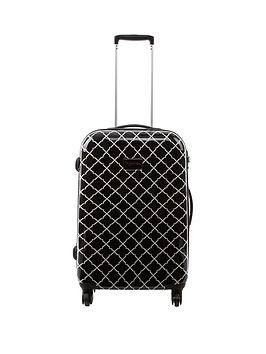 myleene-klass-geo-print-medium-trolley-case