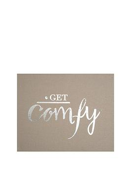 graham-brown-get-comfy-embellished-fabric-canvas-50-x-40cm