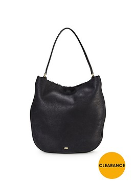 ugg-claire-hobo-sheepskin-shoulder-bag-black