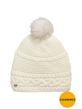 ugg-cable-knit-beanie-ivory