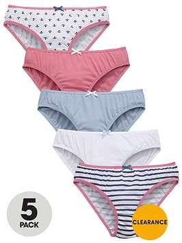 v-by-very-girls-nautical-briefs-5-pack