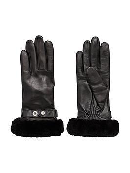 ugg-australia-ugg-leather-belted-smart-glove