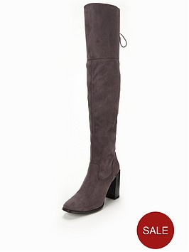 v-by-very-chloe-over-the-knee-stretch-boot-with-tie-detailnbsp