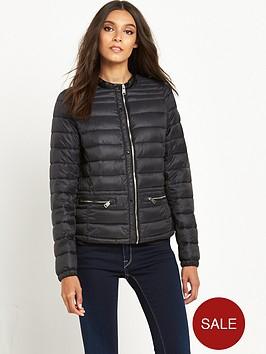 replay-duck-free-short-padded-coat