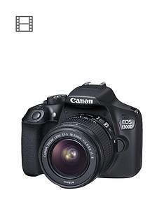 canon-eos-1300d-slr-camera-inc-ef-s-18-55mm-f35-56-non-is-dc-iii-lens-amp-free-canon-300-eg-dslr-backpacknbsp