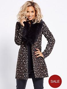 myleene-klass-faux-fur-collar-leopard-coat