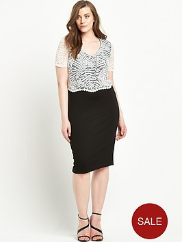 so-fabulous-double-layer-lace-dress