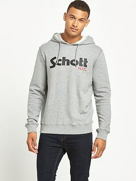 schott-logo-hoody