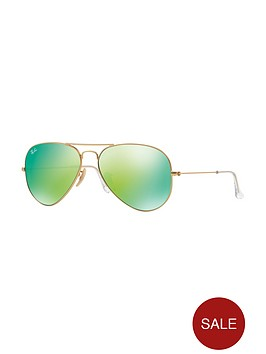 ray-ban-flash-lens-aviator-sunglasses