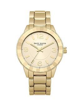 daisy-dixon-lara-gold-tone-dial-stainless-steel-bracelet-ladies-watch