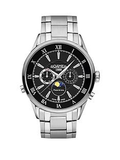 roamer-superior-black-dial-moonphase-stainless-steel-bracelet-mens-watch