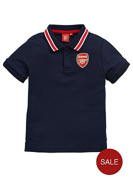 arsenal-source-lab-fc-junior-boys-tipped-polo