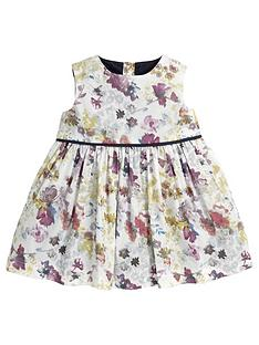 mamas-papas-mamas-amp-papas-watercolour-print-party-dress